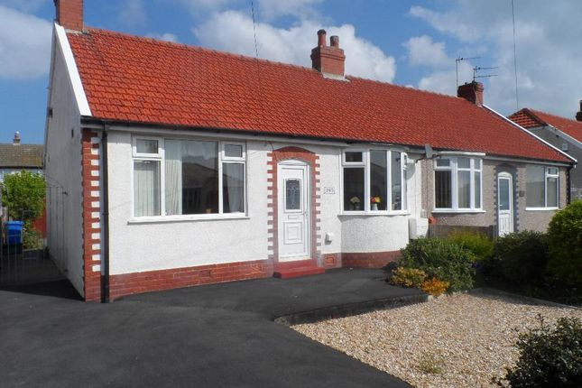 Thumbnail Detached bungalow for sale in Cumberland Avenue, Cleveleys