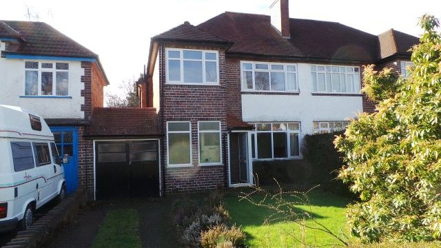 Thumbnail Semi-detached house for sale in Kineton Road, Sutton Coldfield, West Midlands