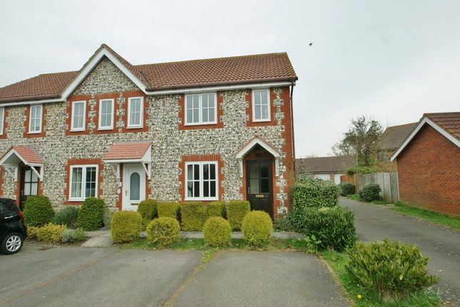 Thumbnail Terraced house to rent in Smithy Drive, Ashford