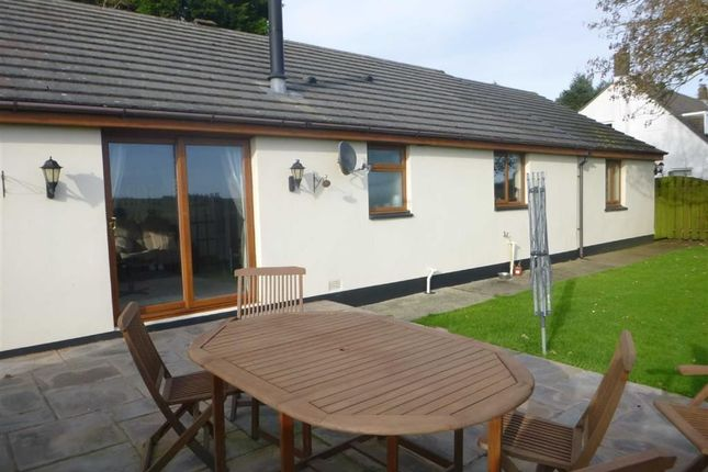 Thumbnail Detached bungalow to rent in Killock Farm, Kilkhampton, Cornwall