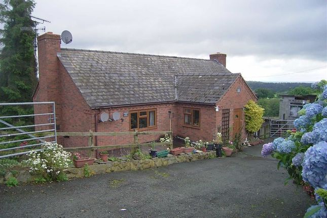 Thumbnail Detached house for sale in Rosewood And Golygfa Y Gyrn, Geuffordd, Welshpool