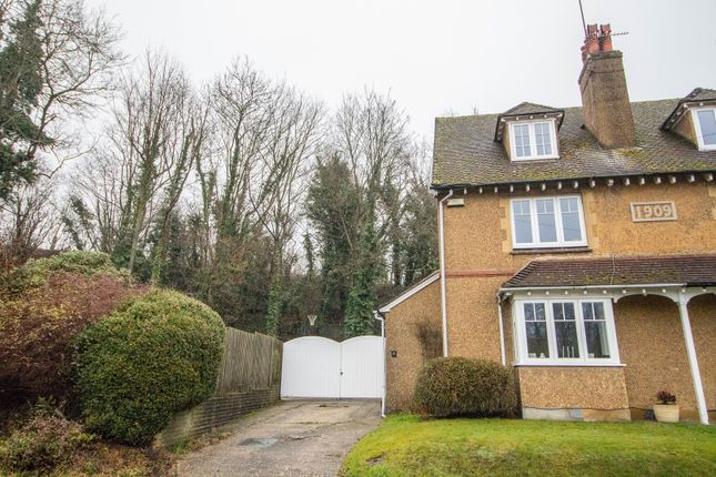 Thumbnail Semi-detached house for sale in Chalkpit Lane, Oxted
