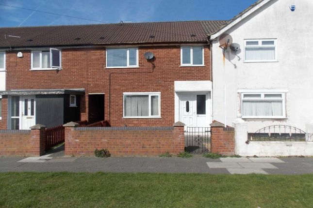Thumbnail Terraced house to rent in Windermere Drive, Tower Hill, Kirkby