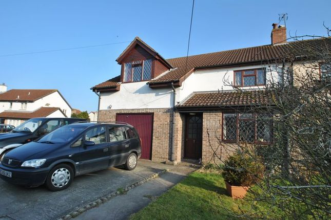 Thumbnail Semi-detached house for sale in Gills Lane, Rooksbridge, Axbridge