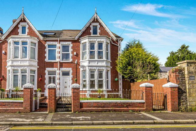 Thumbnail Semi-detached house for sale in Llynfi Road, Maesteg