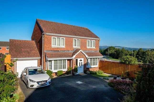 Thumbnail Detached house for sale in 10 Clywedog Drive, Llandrindod Wells