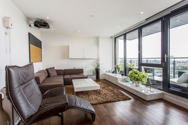 Thumbnail Flat for sale in Cadmium Square, London