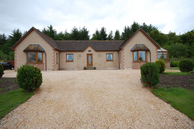 Thumbnail Detached bungalow for sale in Hillside, Mosstowie, Elgin