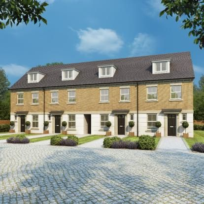 Thumbnail Town house for sale in Papyrus Villas, Newton Kyme