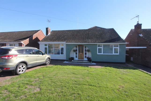 Thumbnail Detached bungalow for sale in The Fleet, Stoney Stanton, Leicester