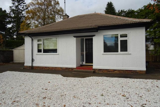 Thumbnail Bungalow to rent in The Point Cottage, Orchil Road, Auchterarder