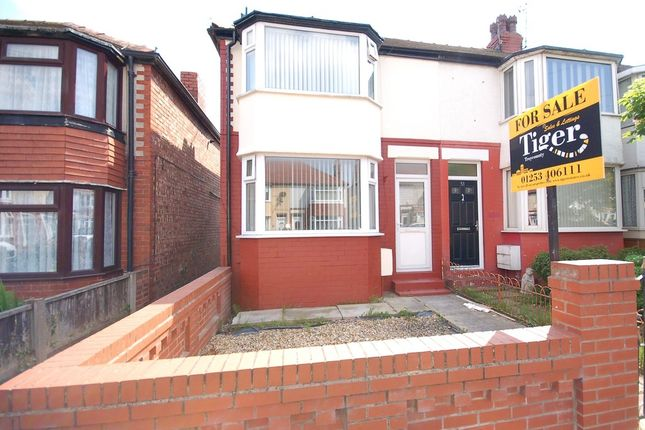 Thumbnail End terrace house for sale in Highbank Avenue, Blackpool