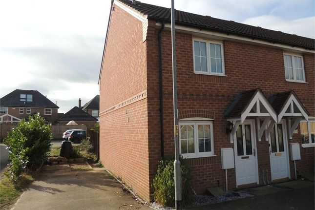 Thumbnail End terrace house for sale in Rosemary Way, Downham Market