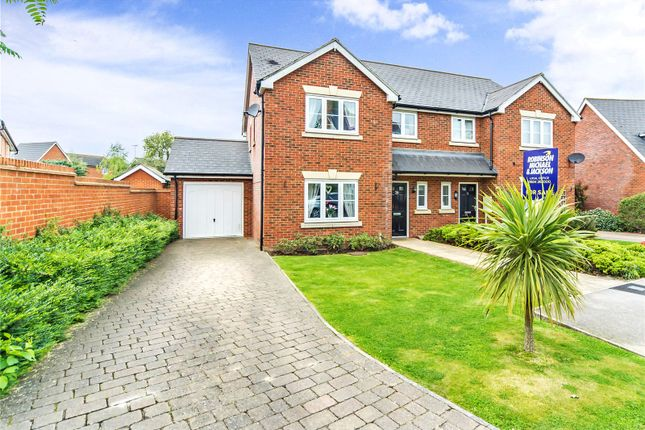 Thumbnail Semi-detached house for sale in Archbishops Crescent, Gillingham, Kent