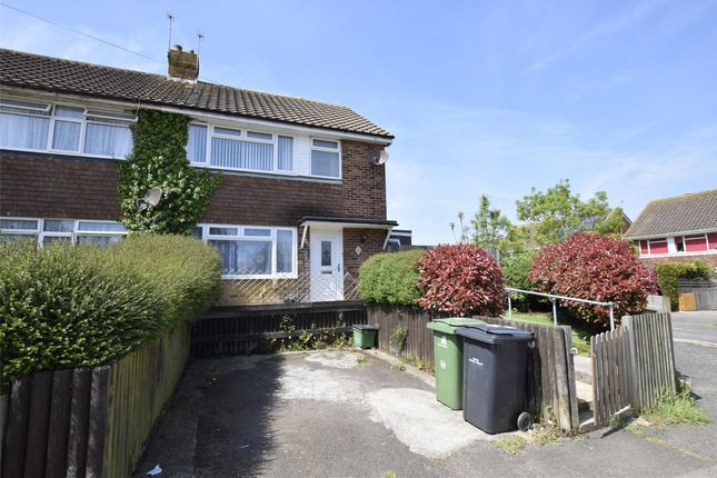 Thumbnail Semi-detached house to rent in Allen Way, Bexhill-On-Sea, East Sussex