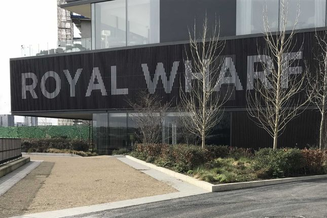 Thumbnail Flat for sale in Thameside House, Royal Wharf, Royal Docks, London
