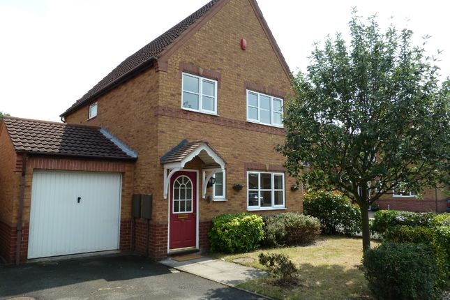 Thumbnail Detached house for sale in Durham Close, Fazeley, Tamworth