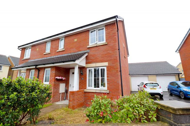 Thumbnail Semi-detached house for sale in Beauchamp Walk, Swansea