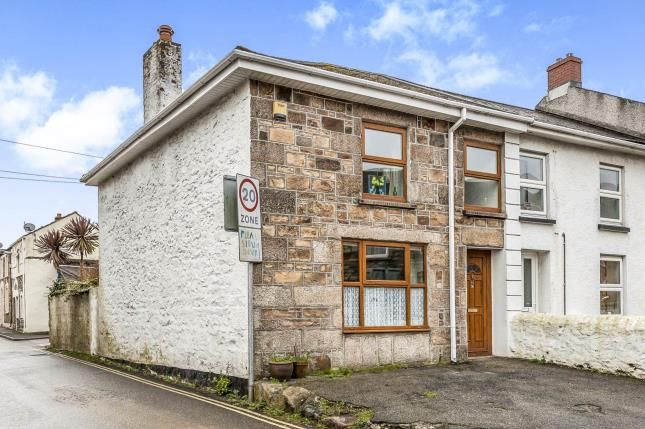 Thumbnail End terrace house for sale in Camborne, Cornwall, Uk