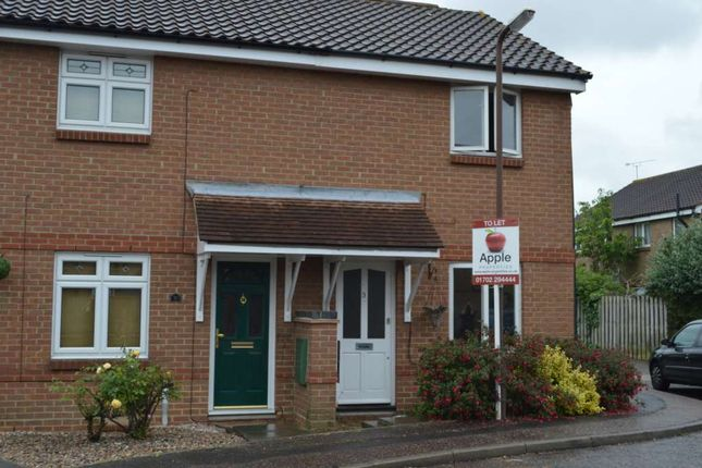 2 bed semi-detached house to rent in Keyes Close, Shoeburyness, Southend-On-Sea SS3