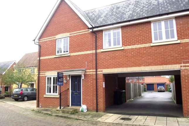 Thumbnail Semi-detached house to rent in Reuben Walk, Earls Colne, Colchester.