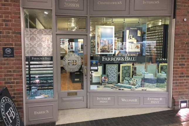 Thumbnail Commercial property to let in Farrow & Ball Retailer, Dorchester