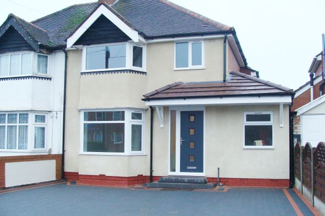 Thumbnail Semi-detached house for sale in Callowbrook Lane, Rubery