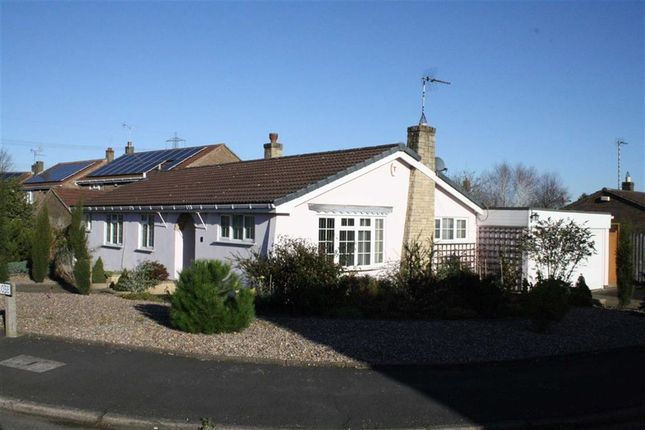 Thumbnail Detached bungalow for sale in Grange Close, Glenfield, Leicester