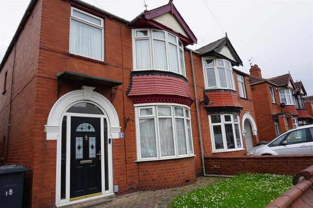 Thumbnail Semi-detached house for sale in Oversley Road, Doncaster