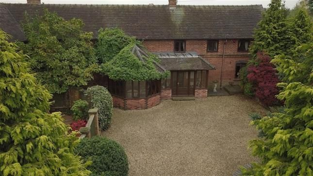 Thumbnail Barn conversion for sale in Cherry Tree Barn, Barthomley, Crewe, Cheshire