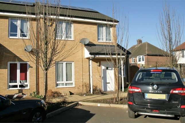 Thumbnail End terrace house for sale in Glenister Gardens, Hayes