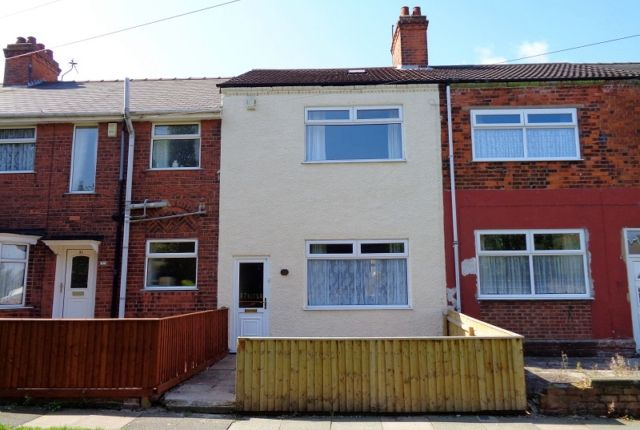 Thumbnail Terraced house to rent in Cromwell Avenue, Grimsby