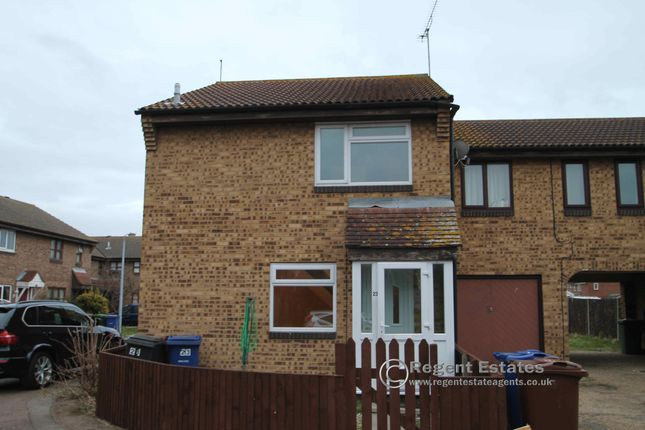 Thumbnail Terraced house to rent in Shelley Place, Tilbury, Essex