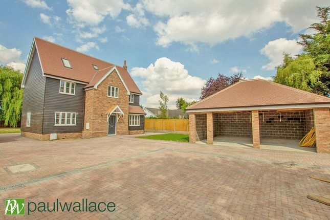 Thumbnail Detached house for sale in Sedge Green, Nazeing, Waltham Abbey