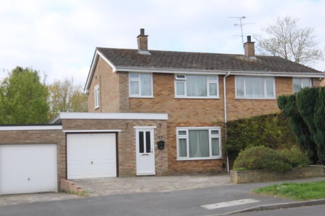 Thumbnail Semi-detached house for sale in Mendip Road, Farnborough