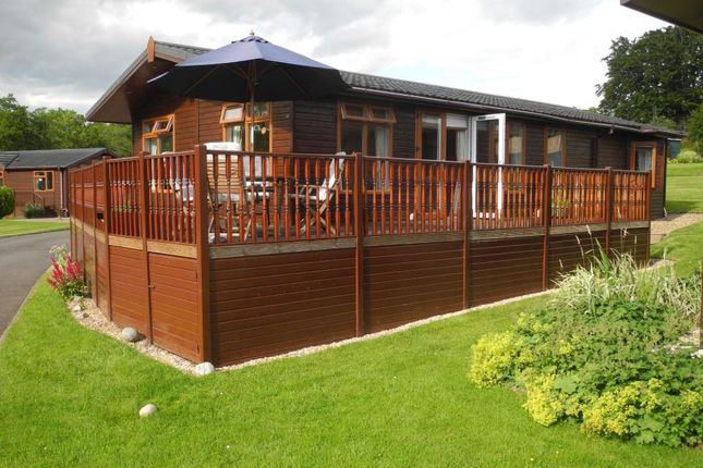 Thumbnail Mobile/park home for sale in Lodge 15, Riverview Holiday Park Mangerton Newcastleton