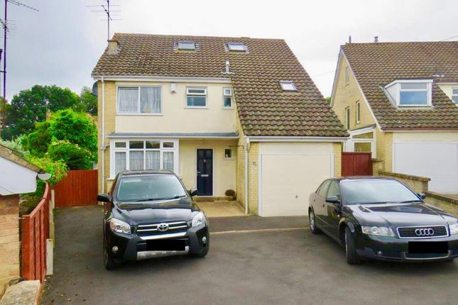 Thumbnail Detached house for sale in Hillside Way, Weston Favell, Northampton