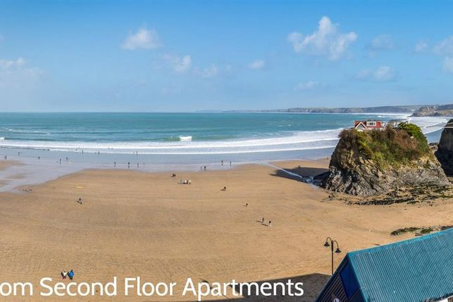 Thumbnail Flat for sale in The Crescent, Newquay, Cornwall