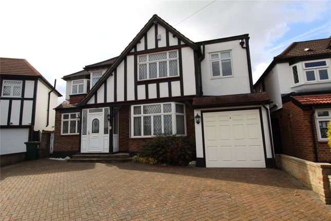 Thumbnail Detached house to rent in Carlton Close, Edgware