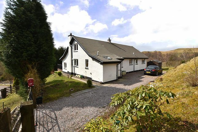 Thumbnail Detached house for sale in Glen Gloy, By Spean Bridge