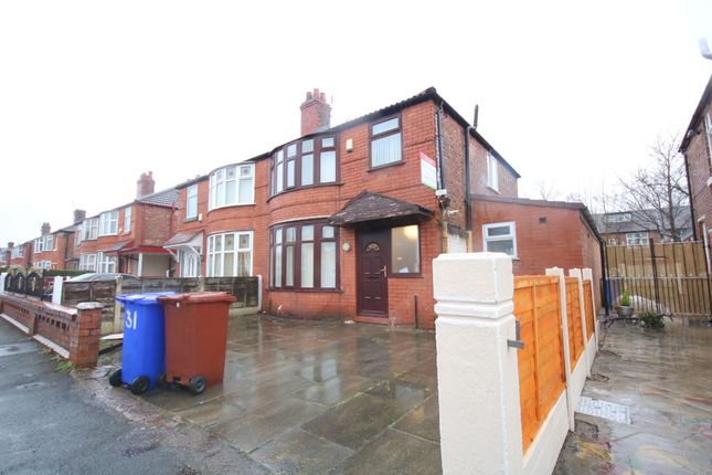 Thumbnail Semi-detached house to rent in Brentbridge Road, Fallowfield, Manchester