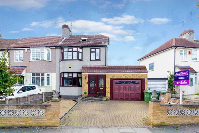 Thumbnail Semi-detached house for sale in Woodbrook Road, Abbey Wood
