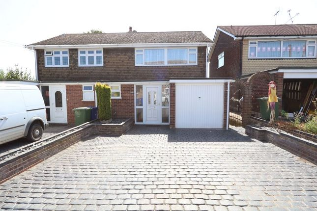 Thumbnail Semi-detached house for sale in Princess Margaret Road, East Tilbury, Tilbury