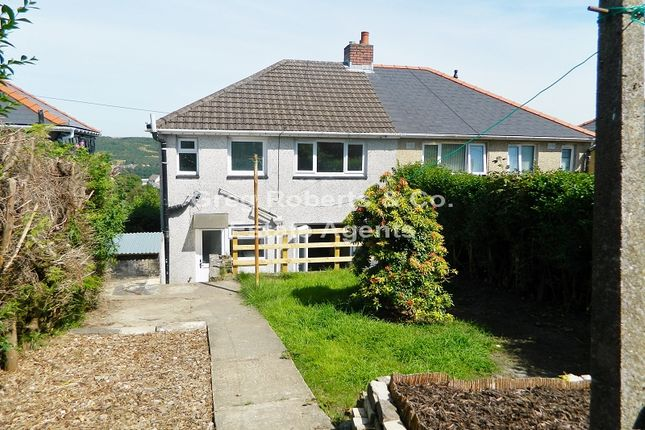 Thumbnail Semi-detached house to rent in Attlee Way, Cefn Golau, Tredegar