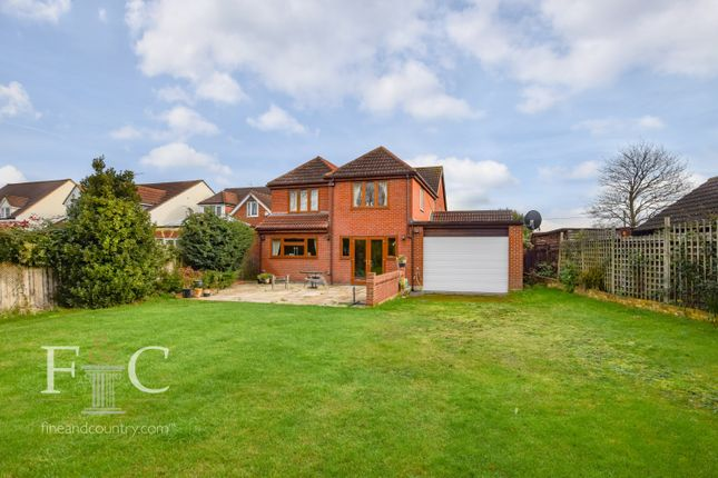Thumbnail Detached house for sale in Nursery Road, Nazeing, Essex