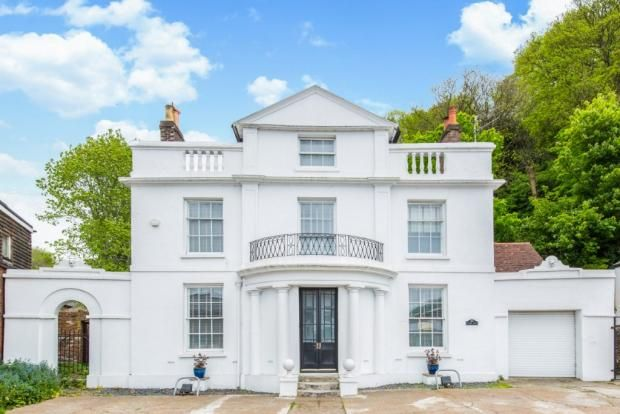 Thumbnail Link-detached house for sale in Malling Street, Lewes