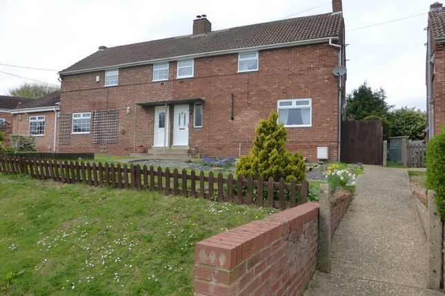 Thumbnail Semi-detached house for sale in Olney Road, Lavendon, Olney