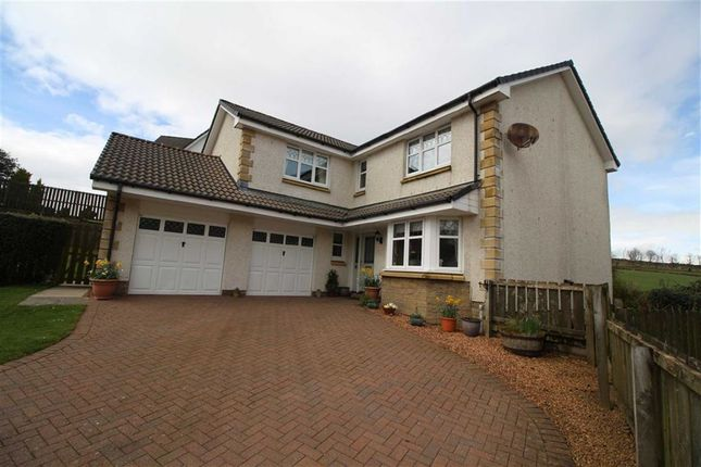 Thumbnail Detached house for sale in Woodlark Grove, Inverkip Greenock, Renfrewshire