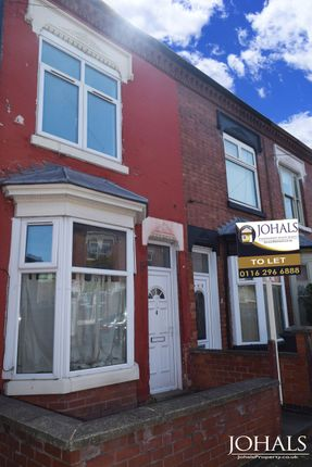 Thumbnail Terraced house to rent in Cranmer Street, Leicester