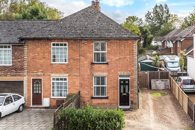 Thumbnail End terrace house for sale in New Haw, Surrey